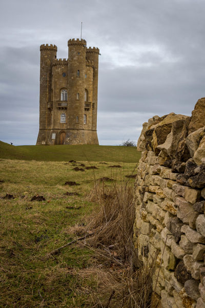 Broadway Tower Ancient Architecture Broadway Tower Building Exterior Built Structure Castle Cotswolds Day Grass History Nature No People Old Ruin Outdoors Sky The Past Travel Destinations