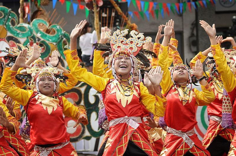 Celebration Cultures Dancing Davao City, Philippines Festival Davao Festival Philippines Festival Season Indak Indak Sa Kadalanan Kadayawan Kadayawanfestival People Performance Performing Arts Event Streetdance