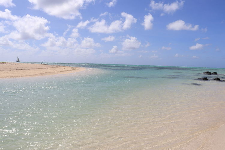 Water Sky Beach