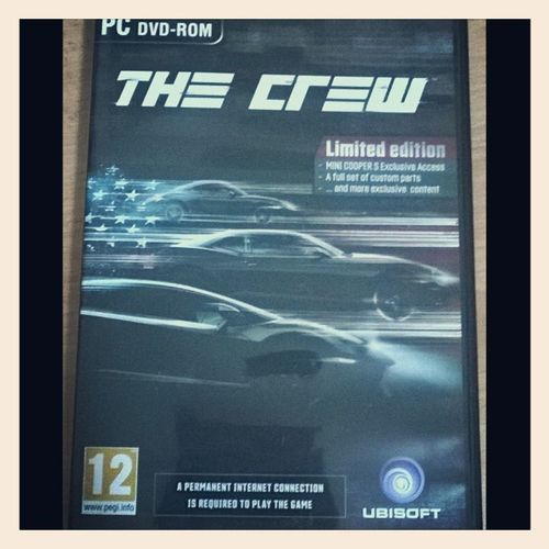 Finally The Crew! Thecrew Ubisoft UPLAY Gaming gamerforlife games pcgamer pc ps4 ps3 instagram limitededition dvd NeverDriveAlone joincrew