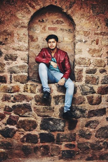 Rahul - Abshine photography Rahul Abshine Abshine_photography Canon Canon1200d Canonphotography Delhi Photography Photographyoftheday Picoftheday One Person Full Length Adult Real People Only Men One Man Only Young Adult Men Portrait Sitting