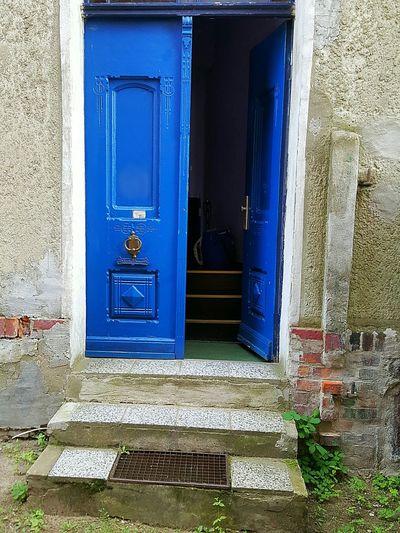 Blue Blue Door Door Architectural Detail Architecture Wittstock/dosse Brandenburg Brandenburg Germany Old Old Door Old Doors Doorway Wooden Door