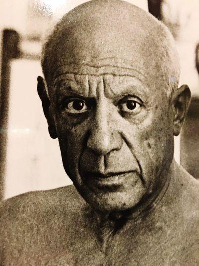 Close-up portrait of human face