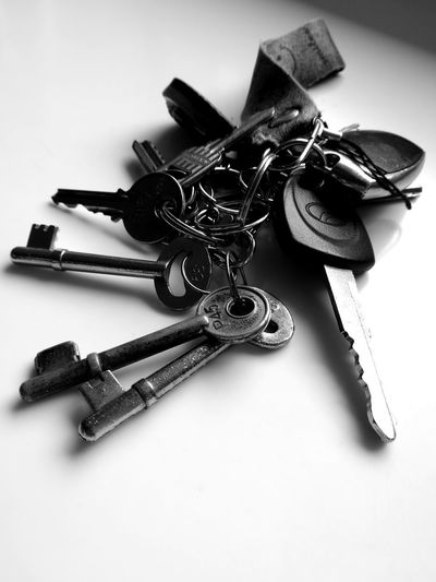 No People Close-up Metal Key Ring Indoors  Day EyeEm Best Shots EmNewHere Car Keys Door Keys