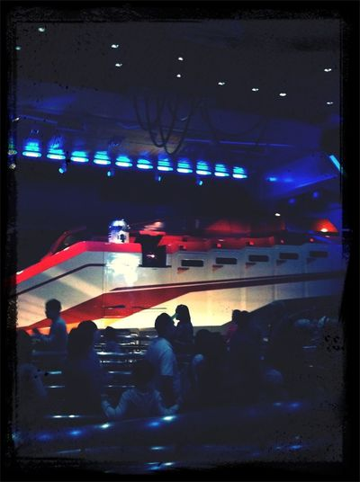 Starspeeder 3000 At Disneyland #StarTours