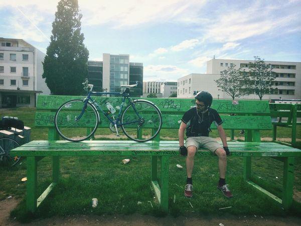 Having A Break Bike Trip On The Long Road To Paris