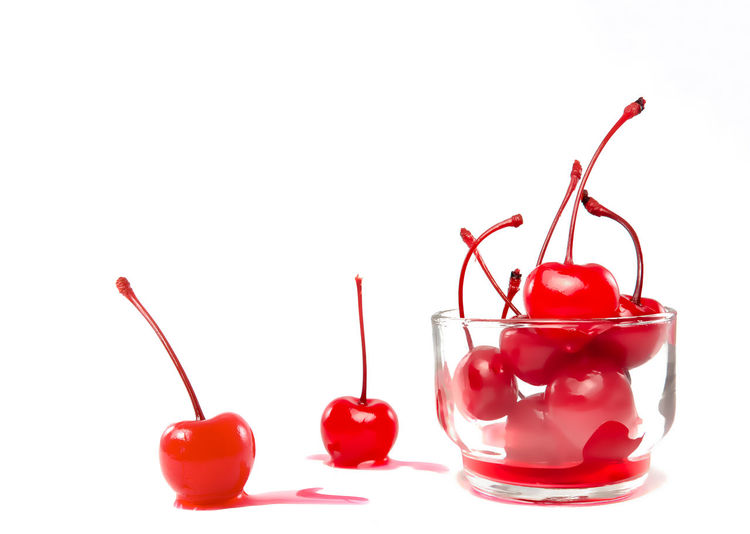 red cherry with