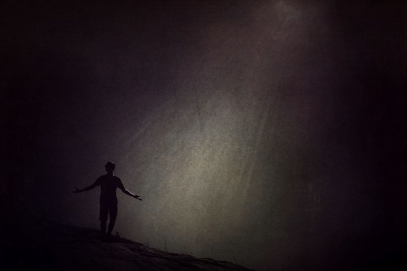 In Darkness... Light! Shootermag AMPt_community Darkart Noir Conceptual Fantasy Edits Surrealism