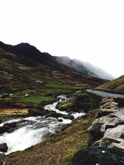 Wales Roadtrip Beautiful View Water Nature Rainy Day Cloudy Day Mountains Weekendaway Traveling River Autumn Landscape Podróże Gory Krajobraz Deszczowo Rzeka Jesień
