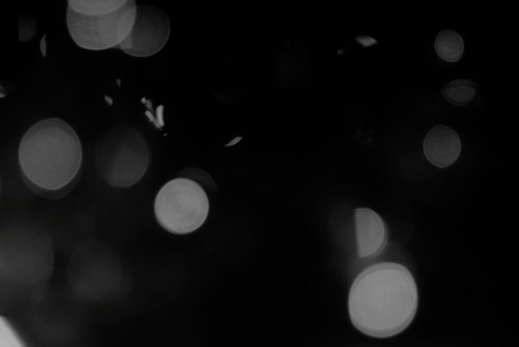 Black And White Art Abstract Space Light And Shadow Bokeh Defocused Close-up Abstract Backgrounds Backgrounds Circle Abstract