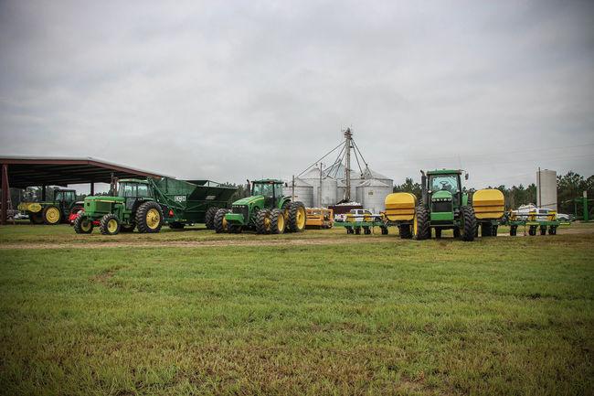 Cloud Cloud - Sky Cloudy Farm Farm Equipment Field Rural Scene