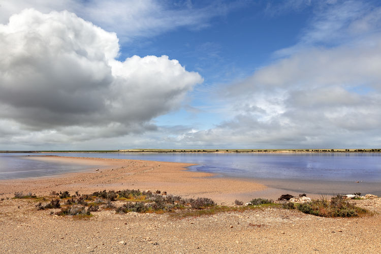 Cloud - Sky Water Sky Salt Flat Mineral Tranquil Scene Scenics - Nature Beauty In Nature