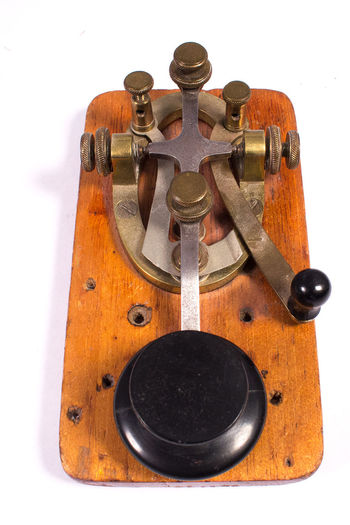Blackandwhite Antique Electronics  Morse Code No People Old Old Buildings Radio Telegraph Vintage