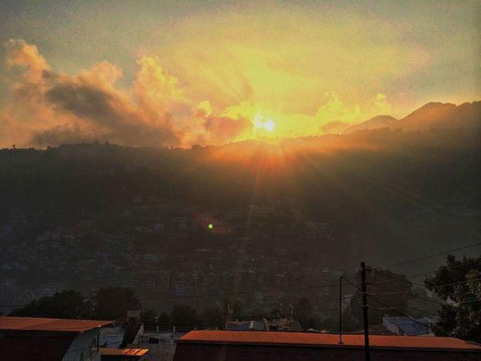 A perfect click taken at Nainital_zoo Beautiful Sunset Amazing Landscape IPhone 5s