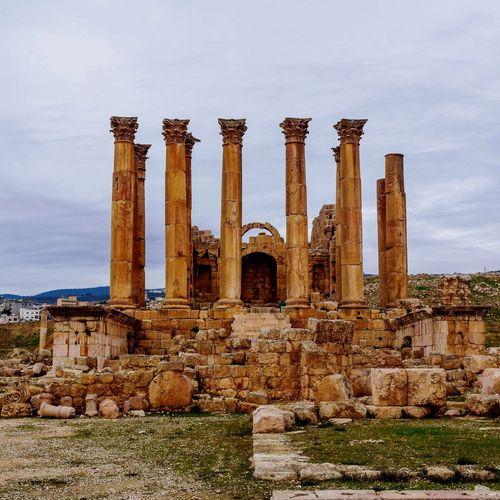 EyeEm Selects Jordan Jordanian Roman Archaeology Old Ruin History Architectural Column