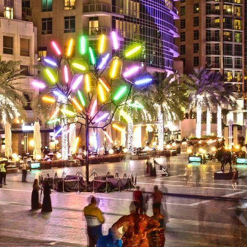 """Science is spectral analysis, Art is Light synthesis'-Karl kraus Dubailights Mydubai Citylights nightscape"