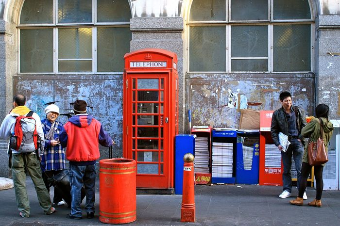 City life of London Chinatown Chinese People City Life City Life England England🇬🇧 Eye4photography  Hello World Hi! Lifestyle Lifestyles London London_only Londonlife Londononly LONDON❤ Men Person Red Red Phone Box Street Street Photography Streetphotography Telephone Box United Kingdom