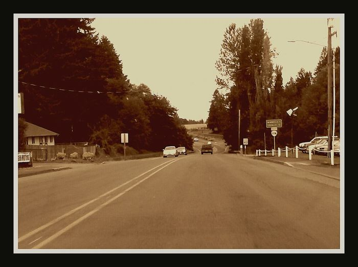 Yamhill County 99w Layfayette Oregon Small Town Old Highway WestCoast On The Way Home Driving Through Boonie Goonie On The Way