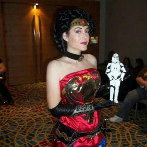 Omegatheclone Wonderwoman Dragon *con DragonCon 2011 steampunk