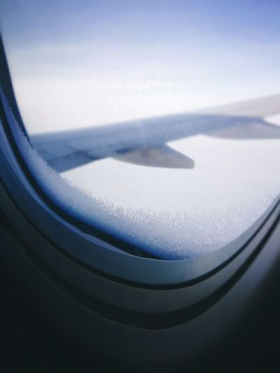 Cruising altitude Window Seat Freezing Ice Icicles Airplane Cold Temperature Winter Snow Water Air Vehicle Aerial View Journey Window Airplane Wing Aircraft Wing Vehicle Interior Jet Engine