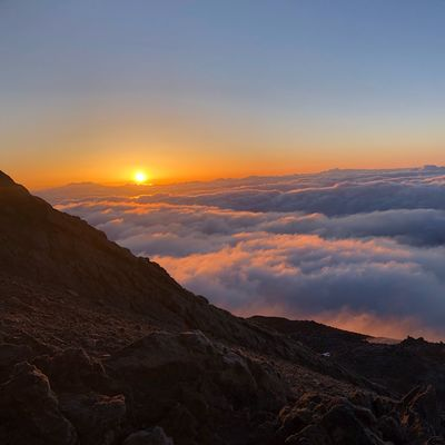 Sunrise at 3600 m 🇪🇸 Cloud - Sky Teide National Park Nofilter SPAIN Tenerife Volcano Teide Sunrise Sky Beauty In Nature Scenics - Nature Tranquility Tranquil Scene Cloud - Sky Mountain Nature Idyllic Sun Outdoors Orange Color Remote