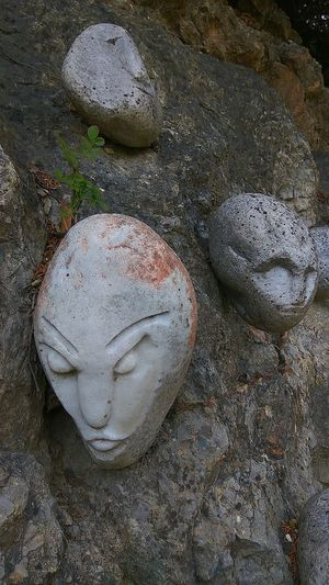 Faces In Nature Faces In Places Facce Omini Di Sasso Stone Faces Italy🇮🇹 Gavorrano Toscana ITALY