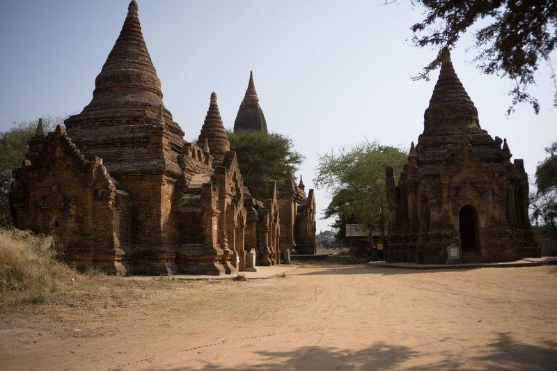 Acient Architecture Bagan Bagan In #myanmar Burma Myamar Pagoda