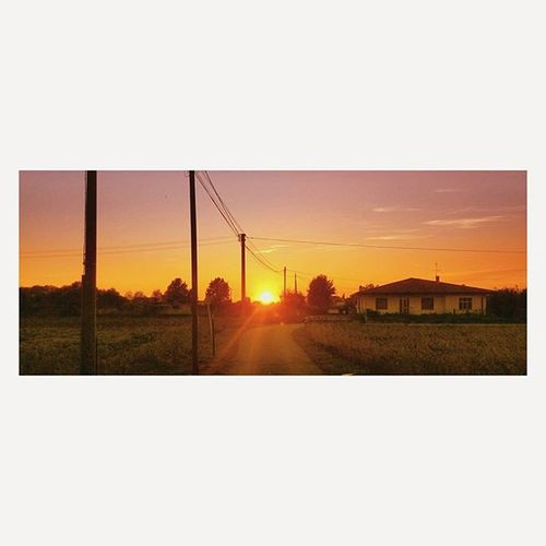 Countryside Sunset Lastsun VSCO Vscocam Lidow Colors Housecountry