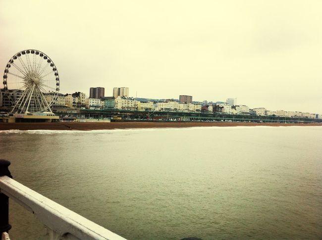 Brighton is a very cool city :) England Brighton City Sea