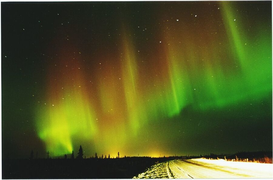 Aurora Aurora Polaris Night Green Color Star - Space Dramatic Sky Space Astronomy Illuminated Sky Beauty In Nature No People Outdoors Nature Milky Way