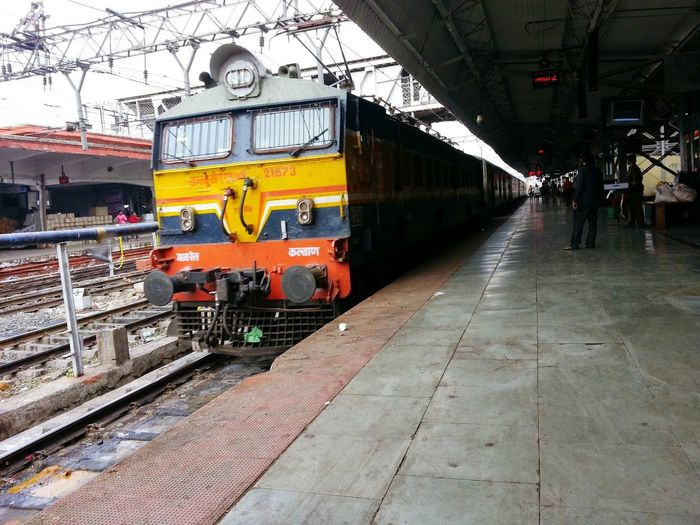 Pune Station. Duronto Express Train Station Train Locomotive Electric Locomotive Pune Station Pune