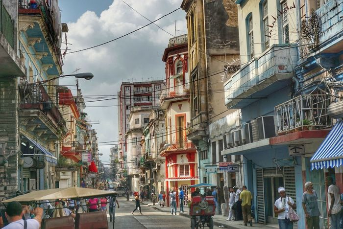 Building Exterior Architecture City Built Structure Outdoors Travel Destinations Sky Cloud - Sky Day Streets Of Cuba Traveling Photography Fotogeniksyl Cuban Style Lifestyles City Vintage The City Light