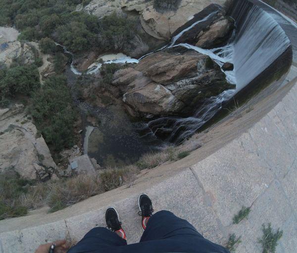 Cascada Pantano De Elche Pantano De Elche Altura High Angle View Crazy Creative Sick first eyeem photo