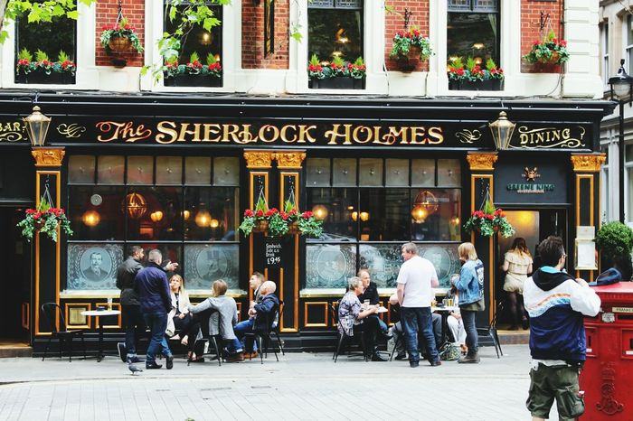 London City Life Sherlockholmes Beautifulcity Eurotrip Pub