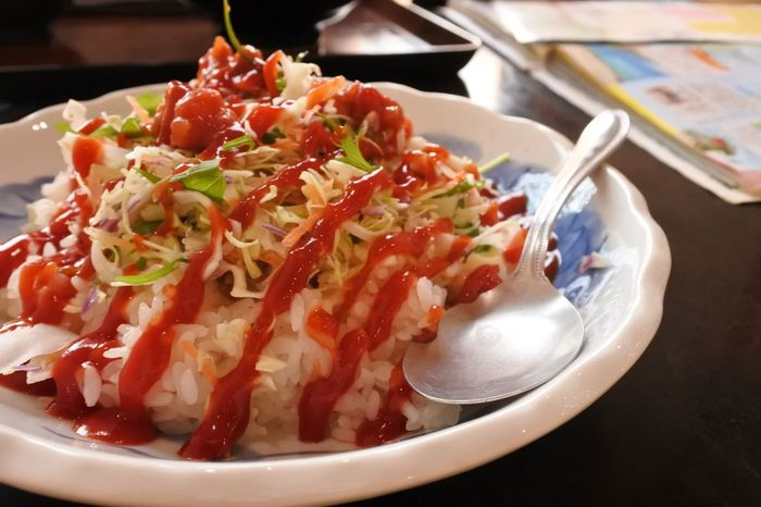 good food Japanese Food Okinawa Rice Trip Close-up Day Delicious Food Food And Drink Freshness Healthy Eating Indoors  Ketchup No People Plate Ready-to-eat Serving Size Sky Travel Destinations Yummy ごはん たべものの写真 沖縄 沖縄料理 美味しい