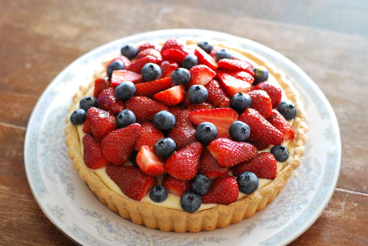 Berry Fruit Blueberry Cake Dessert Food Freshness Fruit Strawberry Sweet Sweet Food