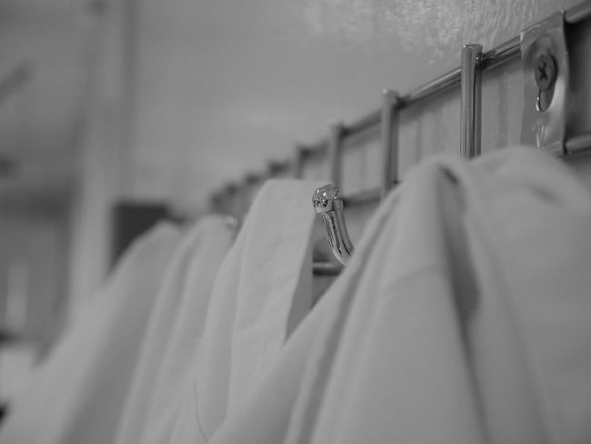 Coat Hangers Hanger Scientist Work Biology Clothes Hanger Lab Coat Lab Gown Laboratory Occupation Scientific Experiment First Eyeem Photo