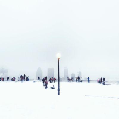 Montreal under the snow Streetphoto_color Montréal Snow ❄ Winter