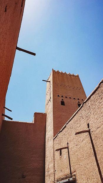 The Architect - 2016 EyeEm Awards Al Masmak Fortress Travel Photography Expat Life Sonyalpha5000 Saudi Arabia Travel Destinations Saudi Historical Places Mud House