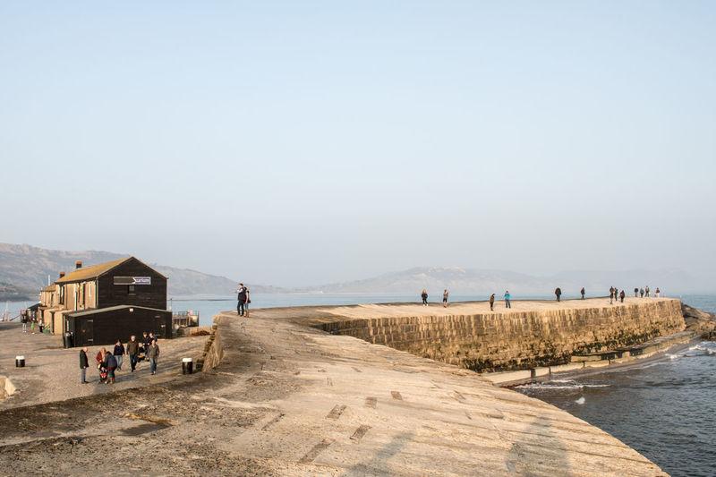 The Cobb Lyme Regis Dorset Eye4photography  EyeEm Best Shots Landscape_Collection Landscapes Harbour