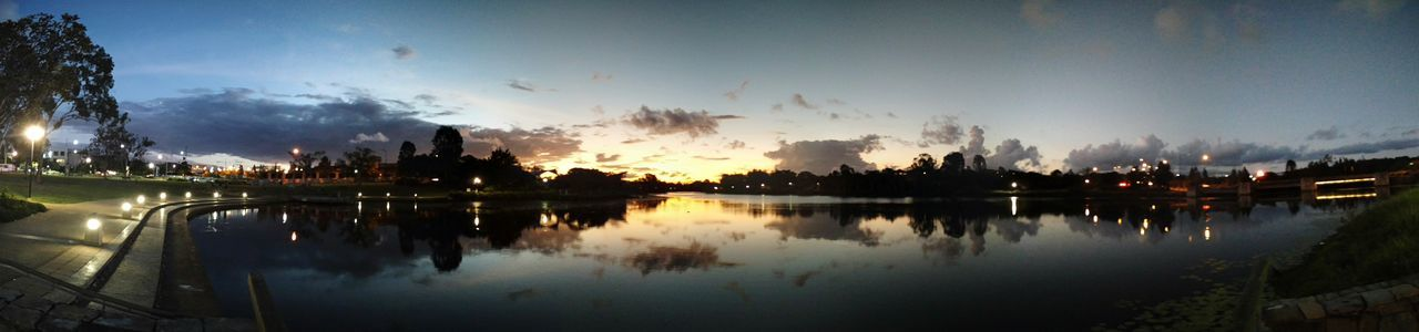 Lakeeden Northlakes Panorama Dusk Brisbane