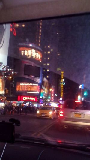 Building Exterior City Illuminated Night Outdoors Transportation