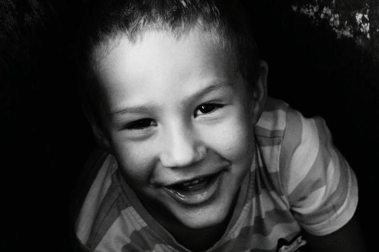 Childrenphoto Smile ✌ Enjoy Blackandwhite