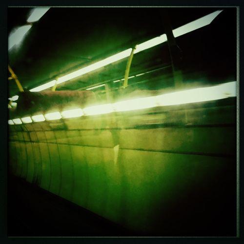 Lion Rock Tunnel Tunnel Of Light Tunnel HongKong Bus