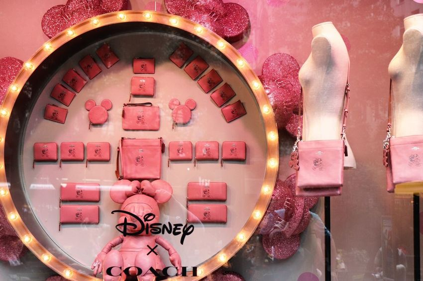Macys New York Manhattan Disney EyeEm Selects Illuminated Text Communication Celebration No People Lighting Equipment Pink Color Western Script Decoration Clock Night Time Close-up Indoors  Glass - Material Holiday Event Heart Shape Food And Drink