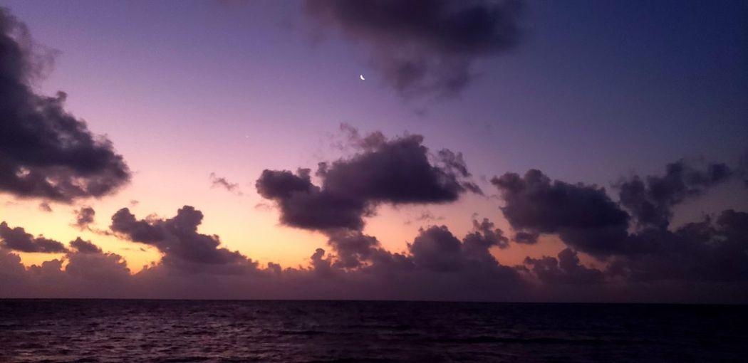 The Traveler - 2019 EyeEm Awards Water Sea Sunset Thunderstorm Planet Earth Beach Backgrounds Horizon Silhouette Wave