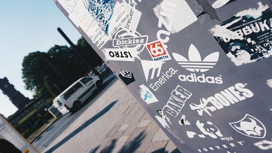 Street Stickers Brand Berlin