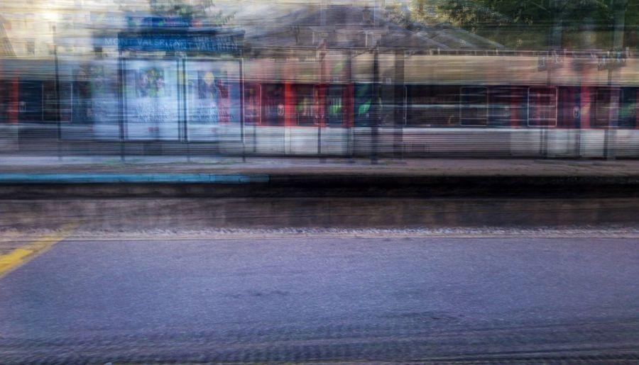 Train Blurred