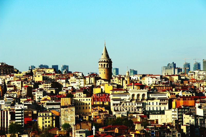 Galata Tower is my favourite 😎 Istanbul City Istanbul Turkey Istanbul - Bosphorus Galata Tower Galatakulesi