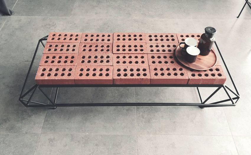 Furniture Industrial Bricks Loft Coffeetable Table Design